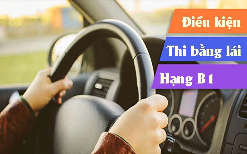 Điều kiện đăng ký thi bằng lái xe ô tô hạng B1