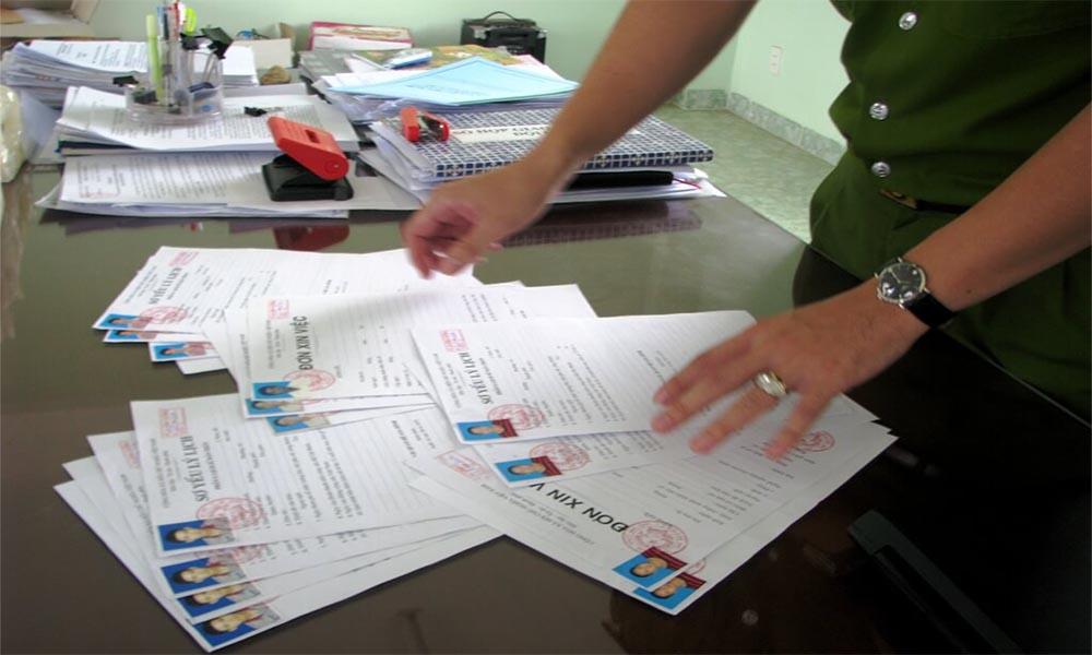 Hồ sơ nâng hạng bằng lái