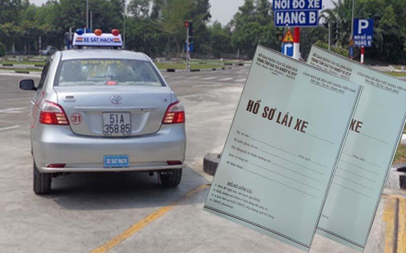Hồ sơ thi bằng lái xe B1 gồm những gì?