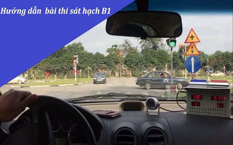 Video hướng dẫn cách thi bằng lái xe B1 dễ hiểu nhất