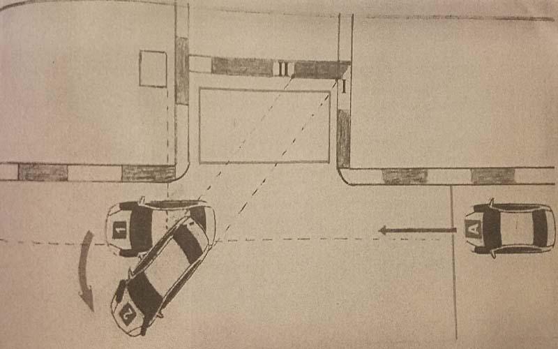 Bài thi số 10: Ghép xe ngang vào nơi đỗ