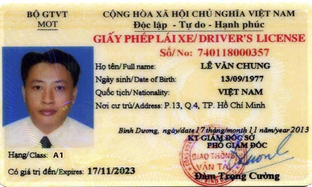 Thi bằng lái xe máy A1 Tp Hồ Chí Minh ở đâu?