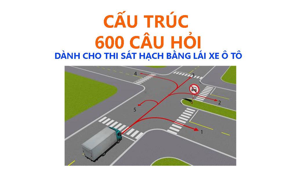 Bộ đề 600 câu hỏi thi bằng lái xe ô tô hạng C