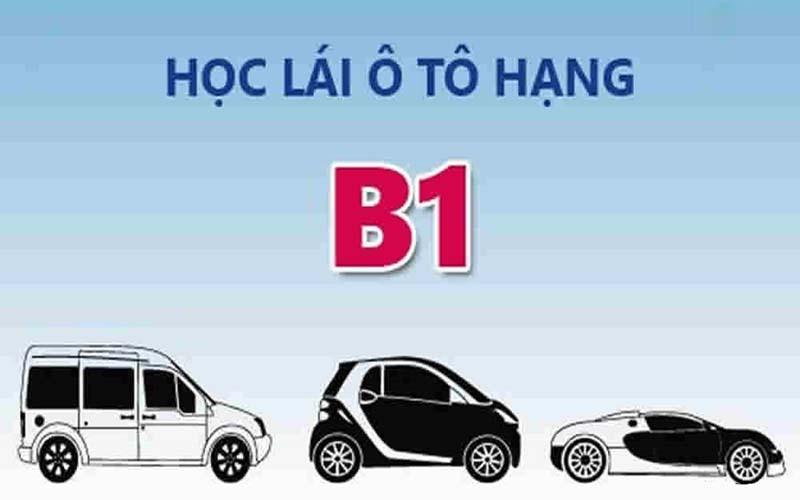 Bằng lái xe ô tô hạng B1 lái được xe gì?