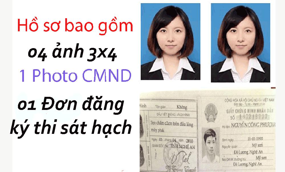 Hồ sơ thi bằng lái xe máy A1 Thành Công