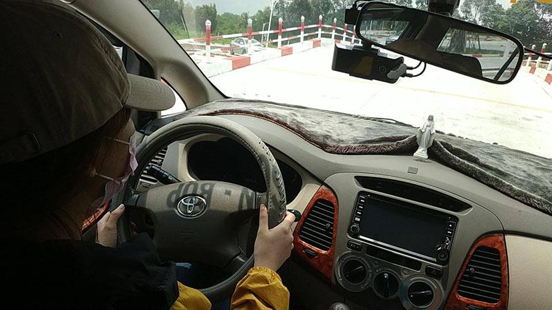 Học phần thi sa hình bằng lái xe B2 tại Nha Trang