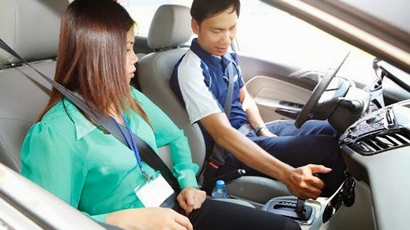 Học thực hành bằng lái xe B2