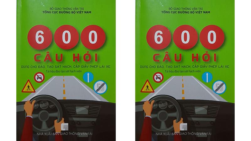 Mua sách thi bằng lái xe ô tô B2