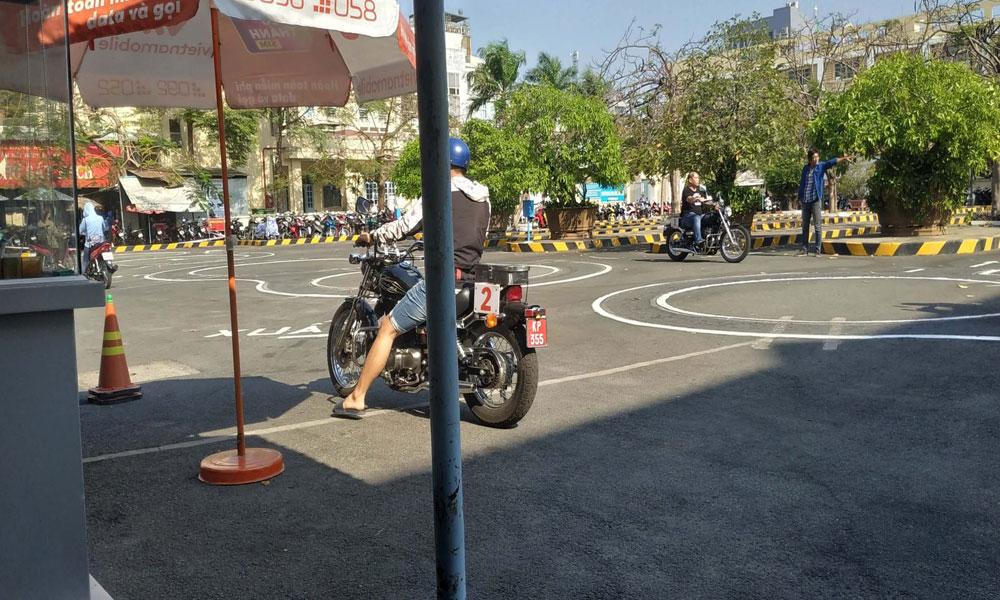 Nơi thi bằng lái xe A2 ở Gia Lai