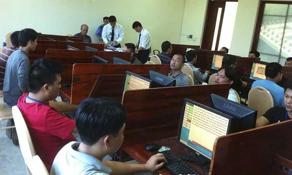 Thi lý thuyết bằng lái xe máy A1 tại Nguyễn Oanh Gò Vấp