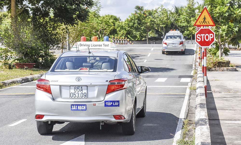 Trung tâm thi bằng lái xe máy A1 tại Thành Thái Quận 10
