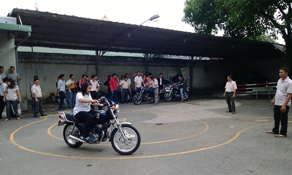 Địa chỉ thi bằng lái A2 tại Ninh Thuận cam kết đỗ 100%