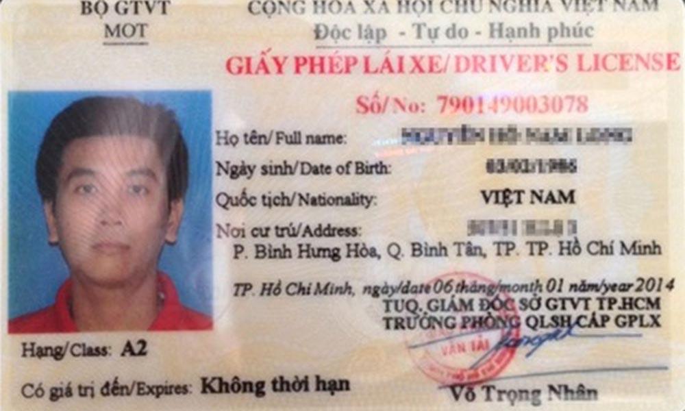 Điều kiện thi bằng lái xe A2