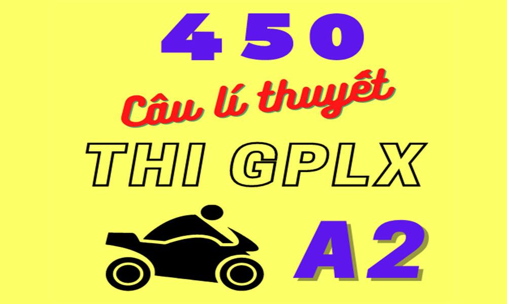 Phần thi lý thuyết bằng lái xe A2 theo quy định mới nhất