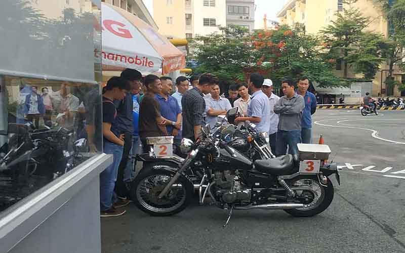 Trình tự các bước thi bằng A2 700 Lê Hồng Phong