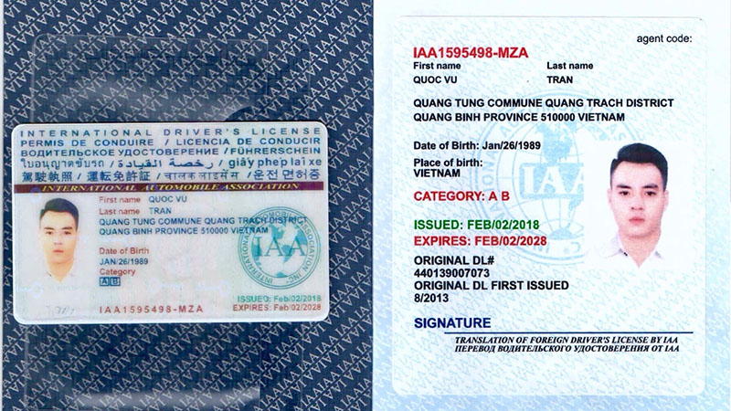Điều kiện để được cấp GPLX quốc tế