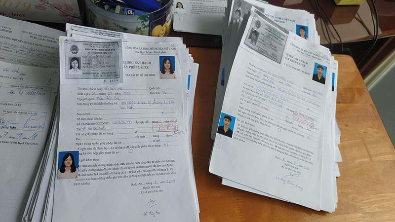 Hồ sơ học bằng lái xe máy