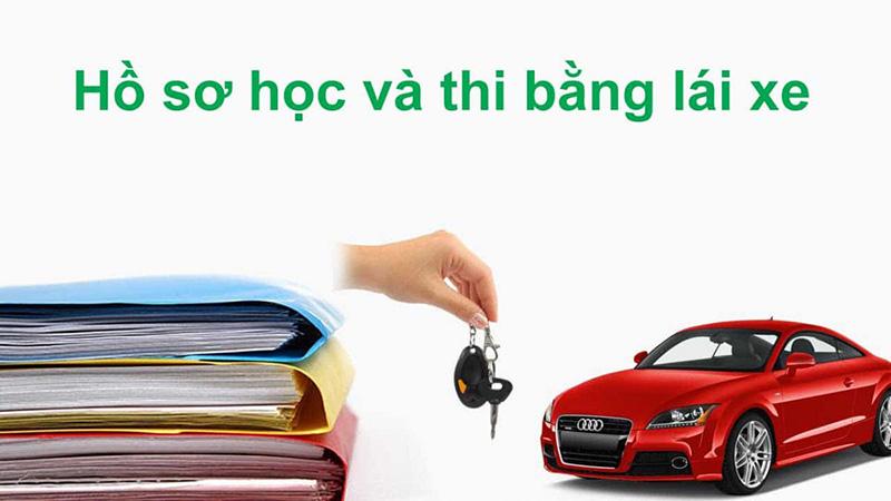 Hồ sơ học lái xe B2