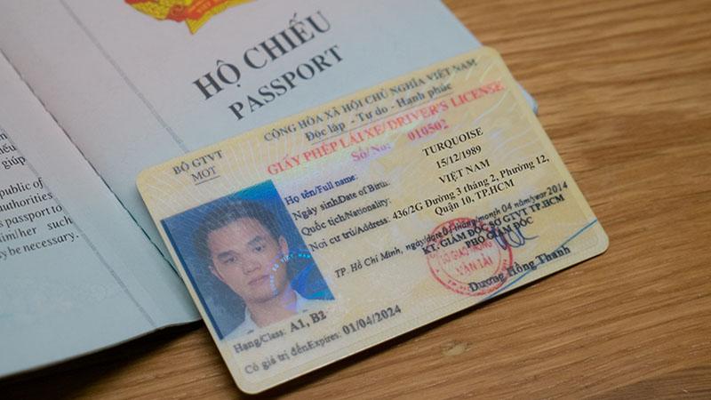Hồ sơ làm bằng lái xe máy quốc tế