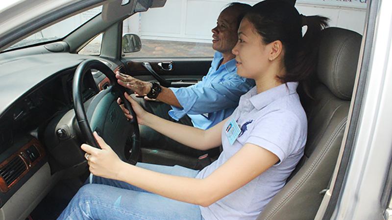 Học thực hành lái xe B2 tại Hải Phòng