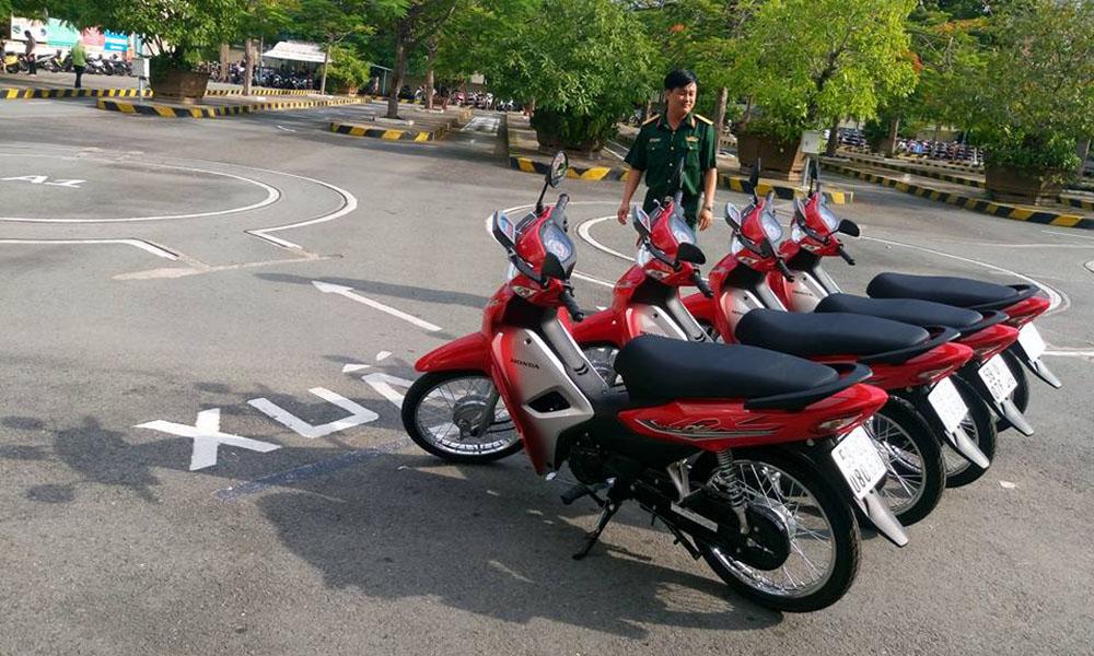 Khóa học và thi bằng lái xe máy A1 ở Củ Chi