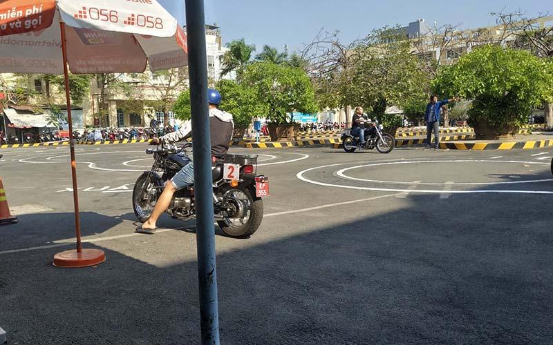 thi bằng lái A2 tại địa chỉ 700 Lê Hồng Phong quận 10