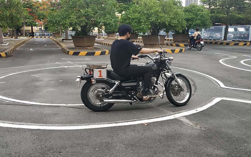 Thi bằng lái xe máy A2 tại Vĩnh Phúc
