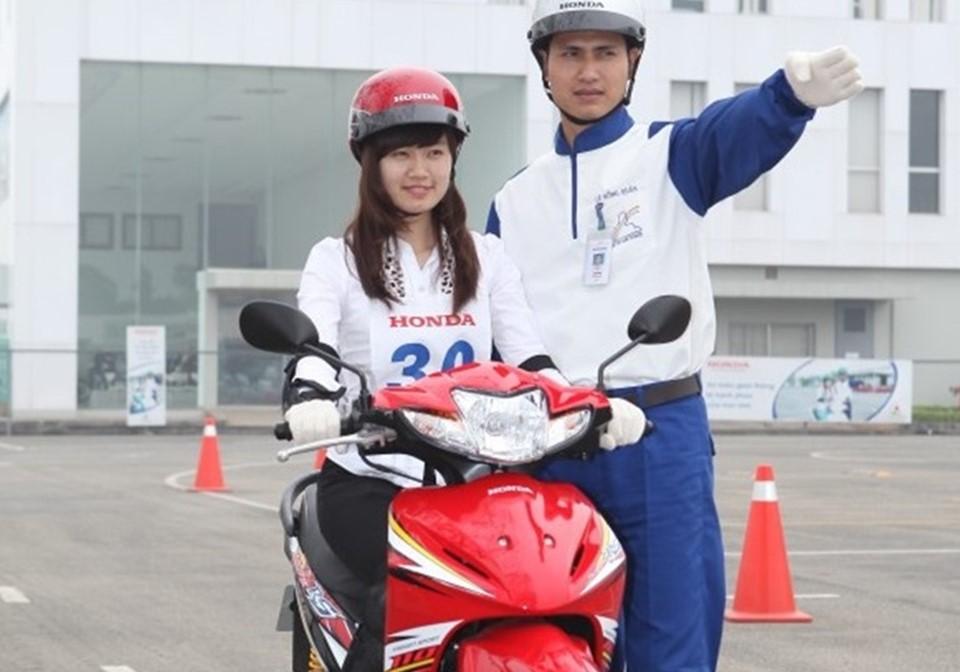 Trung tâm đào tạo thi bằng lái xe máy A1 uy tín