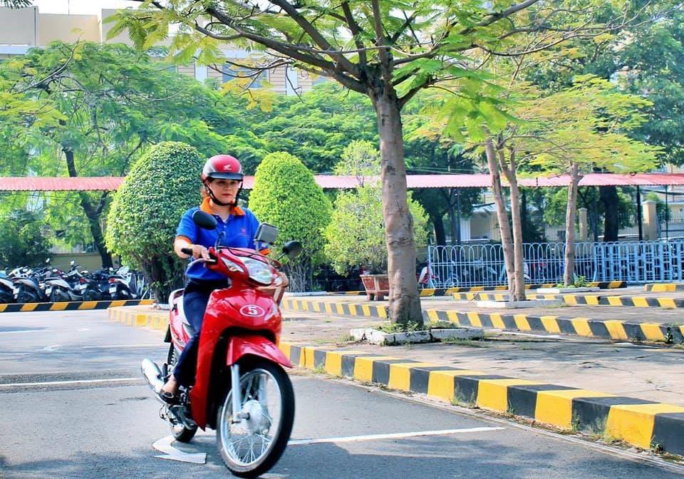 Thi bằng lái xe máy A1 tại Đại học Thành Đô