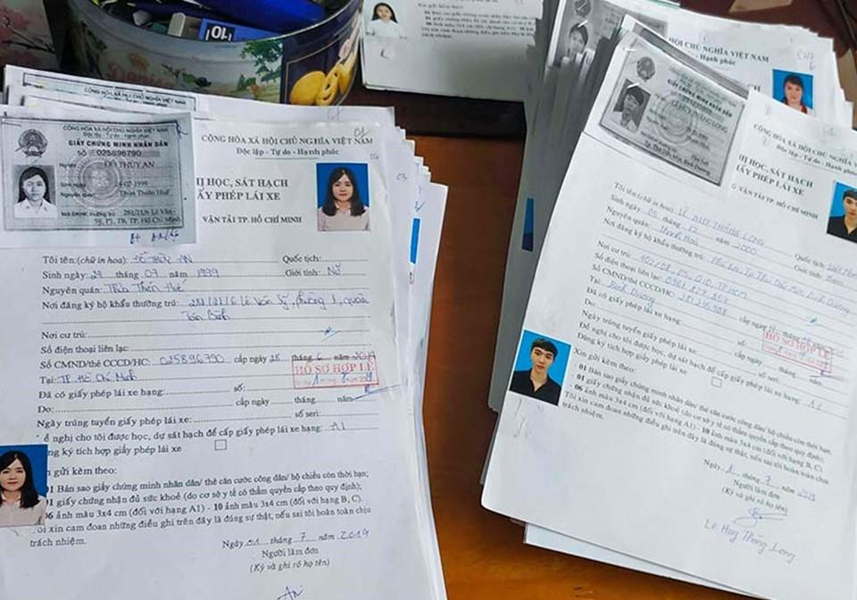 Hồ sơ thi bằng lái xe