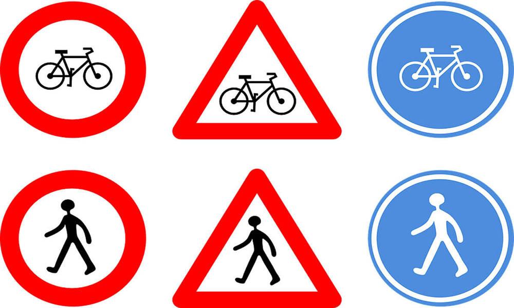 Phần lý thuyết biển báo giao thông