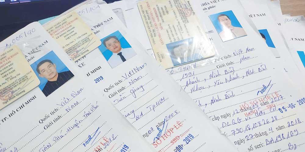 Hồ sơ dự thi bằng lái xe máy A1 tại Vĩnh Yên
