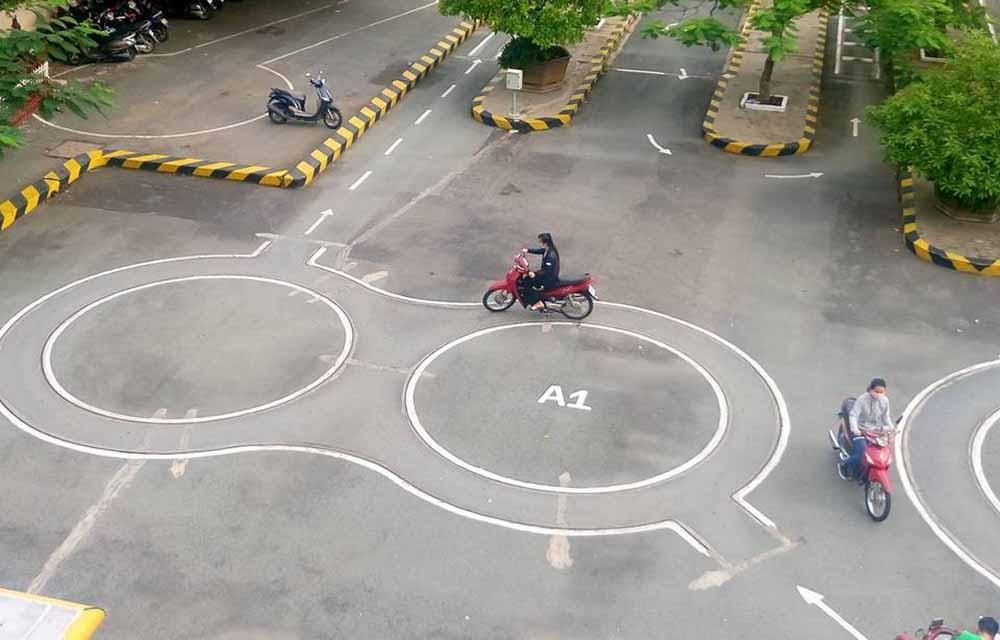 Khóa học thi bằng lái xe máy A1 ở Phú Yên