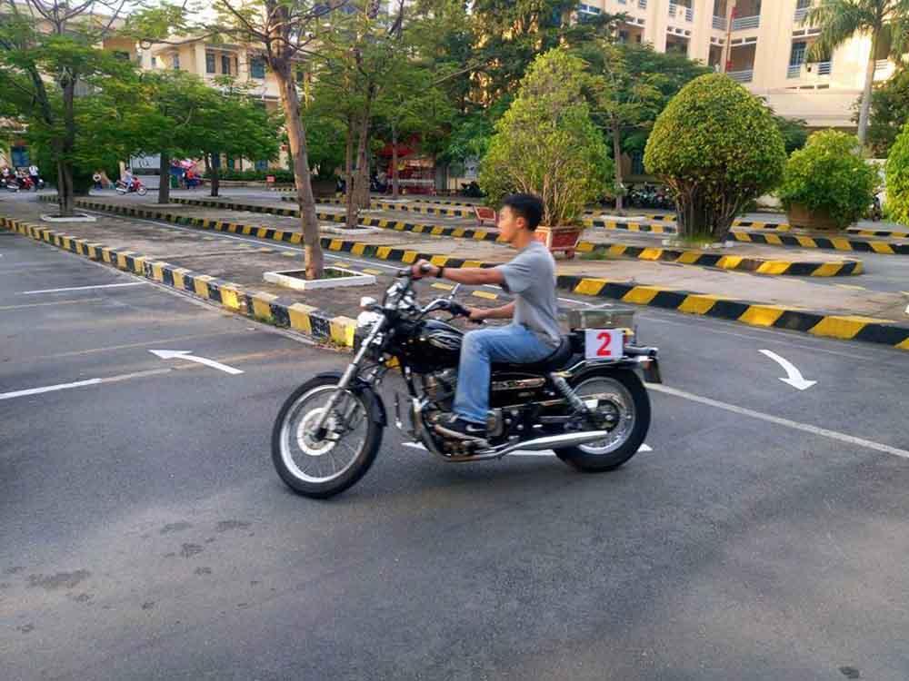 Trung tâm đăng ký thi bằng lái xe máy A2
